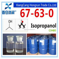 99.5% min Isopropyl alcohol CAS 67-63-0 C3H8O chemicals supplier
