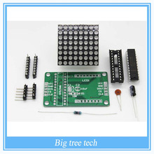 Factory selling DIY kit MAX7219 Dot Led Matrix Module MCU LED Display Control Module F109