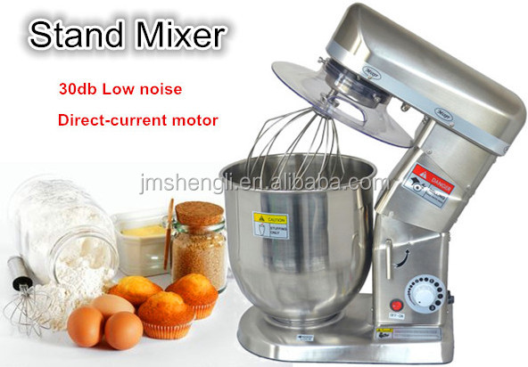 professional kitchen stand food mixer bakery machinery used