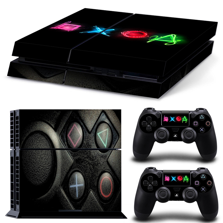 Hot Skin Sticker For Playstation 4 Game Console Controller