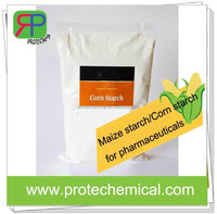 Pharmaceutical raw material maize starch/corn starch wholesale with outlet price