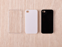 HD transparent PC hard shell phone case For iPhone6 / plus 5s
