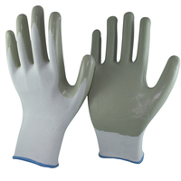 SRSAFETY 13G liner coated Nitrile on palm for safety working gloves