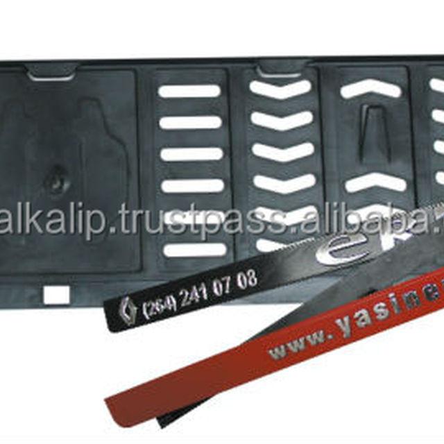 EAGLE Simple Plastic License Plate Frame, License Plate Holder