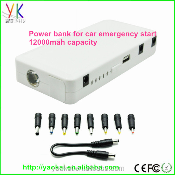 Power bank car Jump Start with 12000mah