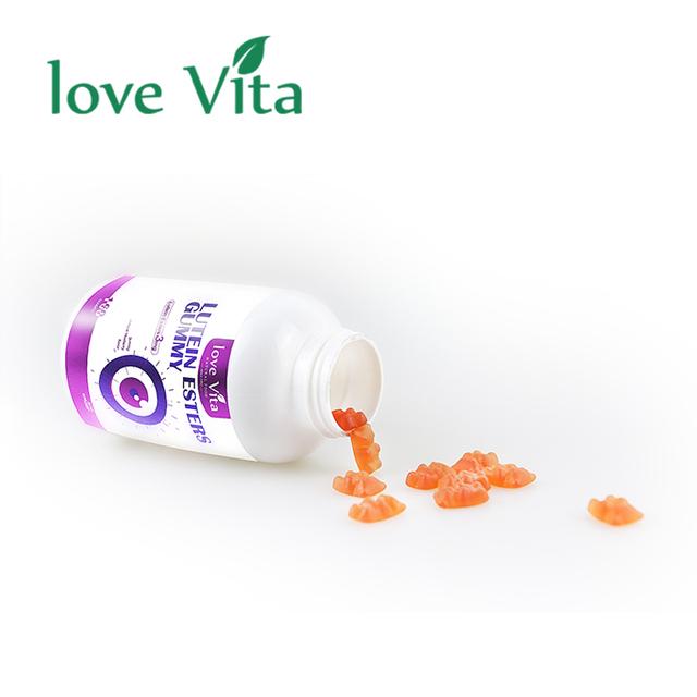 Custom Multivitamin Sweet Packaging Funny Candies Hair Vitamins Giant Bear Gummy Candy