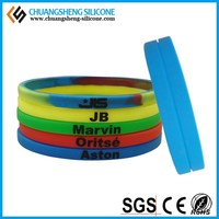 adjustable silicon wristband wrist bands rubber wrist bands