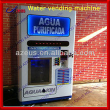 Reverse osmosis refilling pure water vending machine for 3 and 5 gallon bottles with CE