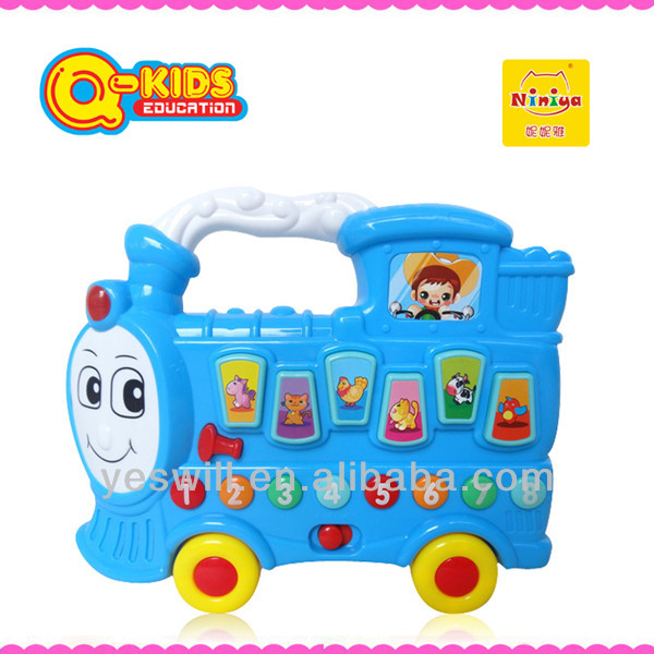 Q-KIDS musical building toy model cars