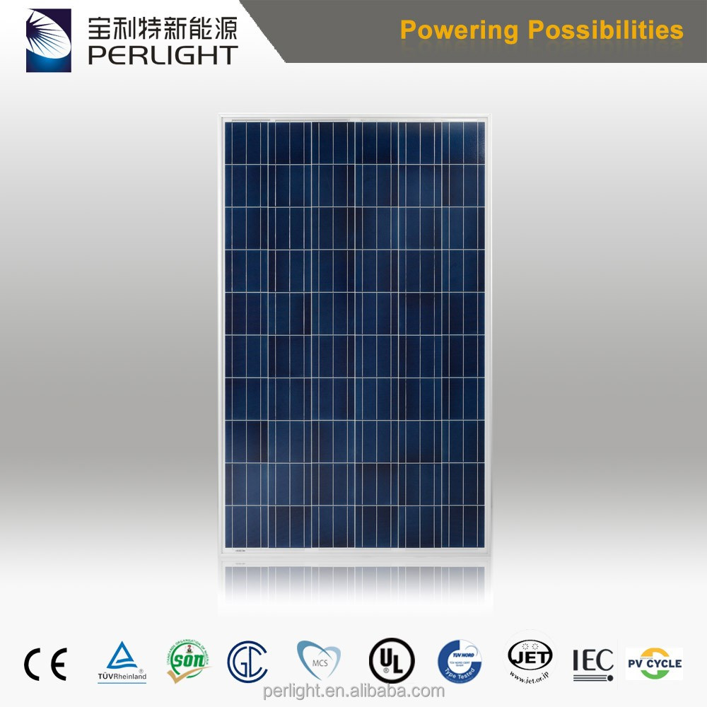China Popular Products Poly 255W Solar Panel for Solar System