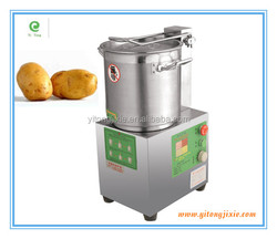 electric automatic fruits and vegetables food chopper machine