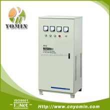 Manufacturer YMTSVC2-75 Three Phase Servo Motor Stabilizer , Automatic Voltage Stabilizer 75KVA /