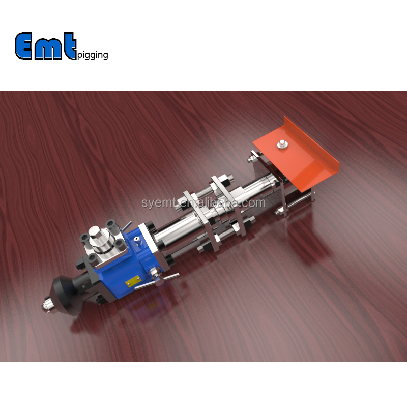 Welded Removable pig signaller with ball valve