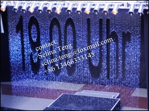 chinese factory supply indoor and outdoor water curtain