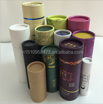 Hot Selling Promotional Gift Round Paper Tube Packaging Cylinder box for incense stick