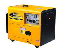 Silent diesel generator,4-stroke OHV,5500W,ATS for your choice
