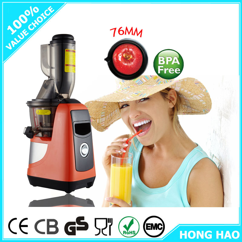Hot sale slow juicer used AC/DC motor and greater productivity