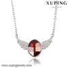 43226- gemstone jewelry crystals from Swarovski wing colored stone necklace