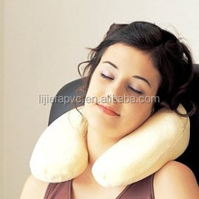 2014 New Product Wholesale PVC Fashion Inflatable Travel Neck Pillow