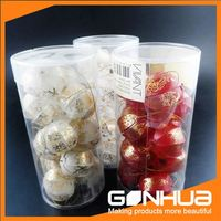 New selling super quality clear plastic tube shaped box from China