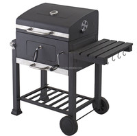 2015 Extra Large Heavy Duty Charcoal BBQ Somker Grill For Outdoor Barbecue
