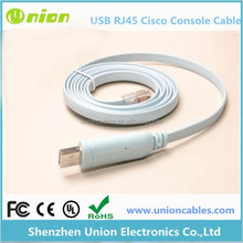 USB RJ45 Cisco Console Cable 1.8m FTDI Windows 8, 7, Vista, MAC, Linux RS232