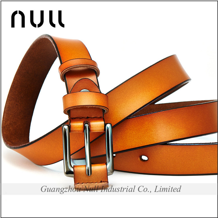 Fashionable high quality handmade crazy horse belt material buckle pars belt