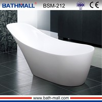 One person cheap small freestanding shower bath
