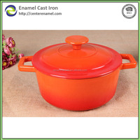 new products cast iron fry pan set with silicone hot handle casserole hot pot restaurant equipment