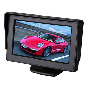 4.3 Inch car lcd monitor with MP3 / MP4 players
