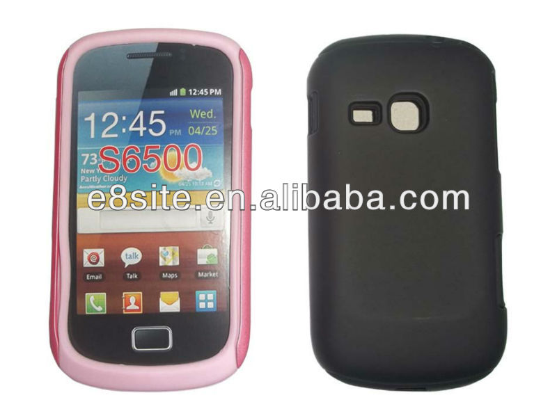 For SamSung Galaxy Mini 2 S6500 PC+Silicone Combo Case