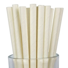 10000 Pcs Party Paper Solid White Biodegradable Straw