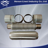 DN50 Stainless Steel Exhaust Bellows Expansion Joint