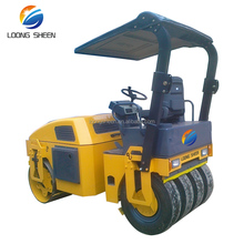 3 ton tire combined hydraulic vibratory roller price, single drum roller