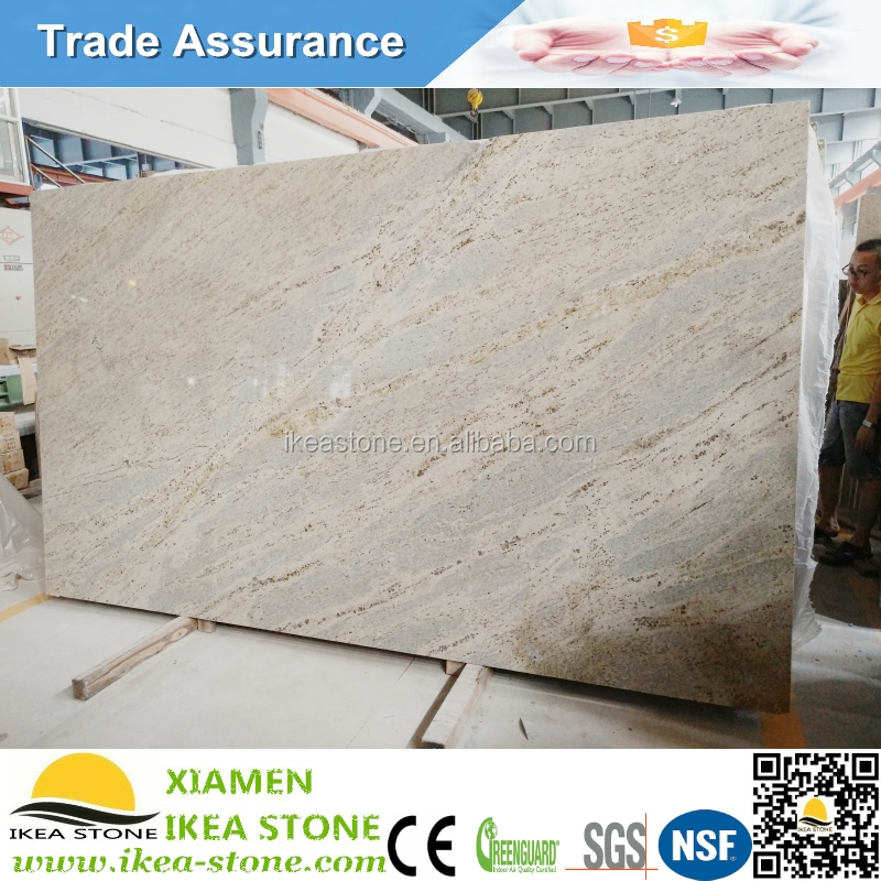 Cheap Indian Kashmir White Exotic Granite Slabs Polished