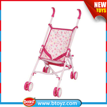 Wholesale baby doll stroller toy folding portable baby carriage