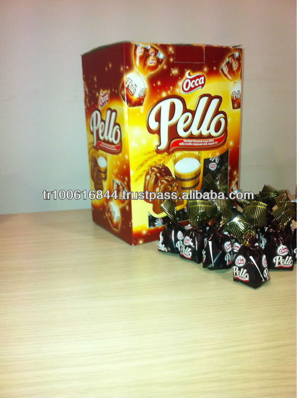 PELLO CHOCOLATE WITH RICE CRISP AND CREAM FILLING- SINGLE TWIST