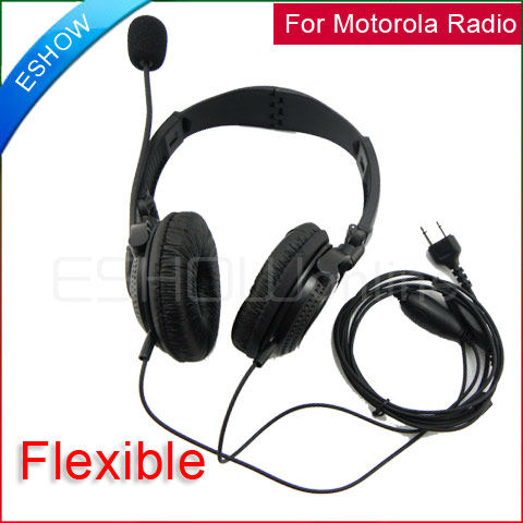Flexible headphone Headset for ICOM dual band radio accessories V8 F3 F3S F4 F11/21/24/43 TH7
