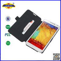 WALLET BOOK FLIP PU LEATHER CASE COVER POUCH FOR SAMSUNG GALAXY NOTE 3--Laudtec