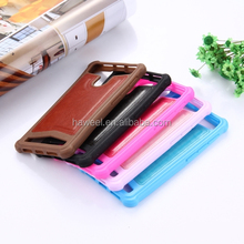 Leather phone case Universal Crazy Horse Texture PU Leather Silicone Protective Case
