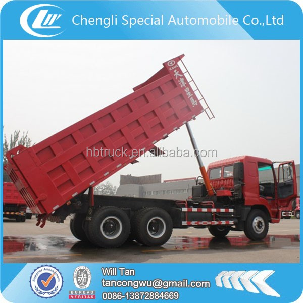 CAMC sand tipper truck with heavy capacity