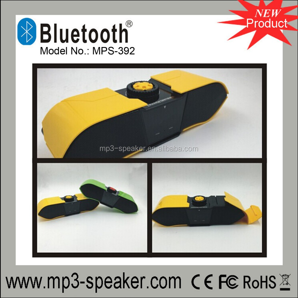2200MAH 16W Bluetooth speaker MPS-392 with transformers shape