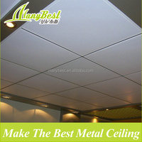 Lay in acoustic aluminium perforated ceiling board