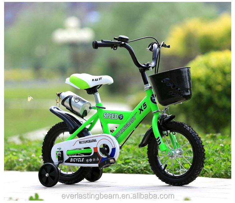 Low Price Mini Push Bikes For Kids / Cheap Girls Baby Toy Bike With Push Bar / Frist Magnetic Training Bicycle For Children