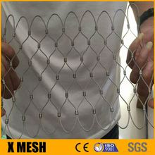 Metal inox rope mesh for anti-theft metal mesh bag with security rope mesh