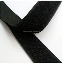 100% polyester 50mm black and white velcro double sided hook and loop tape