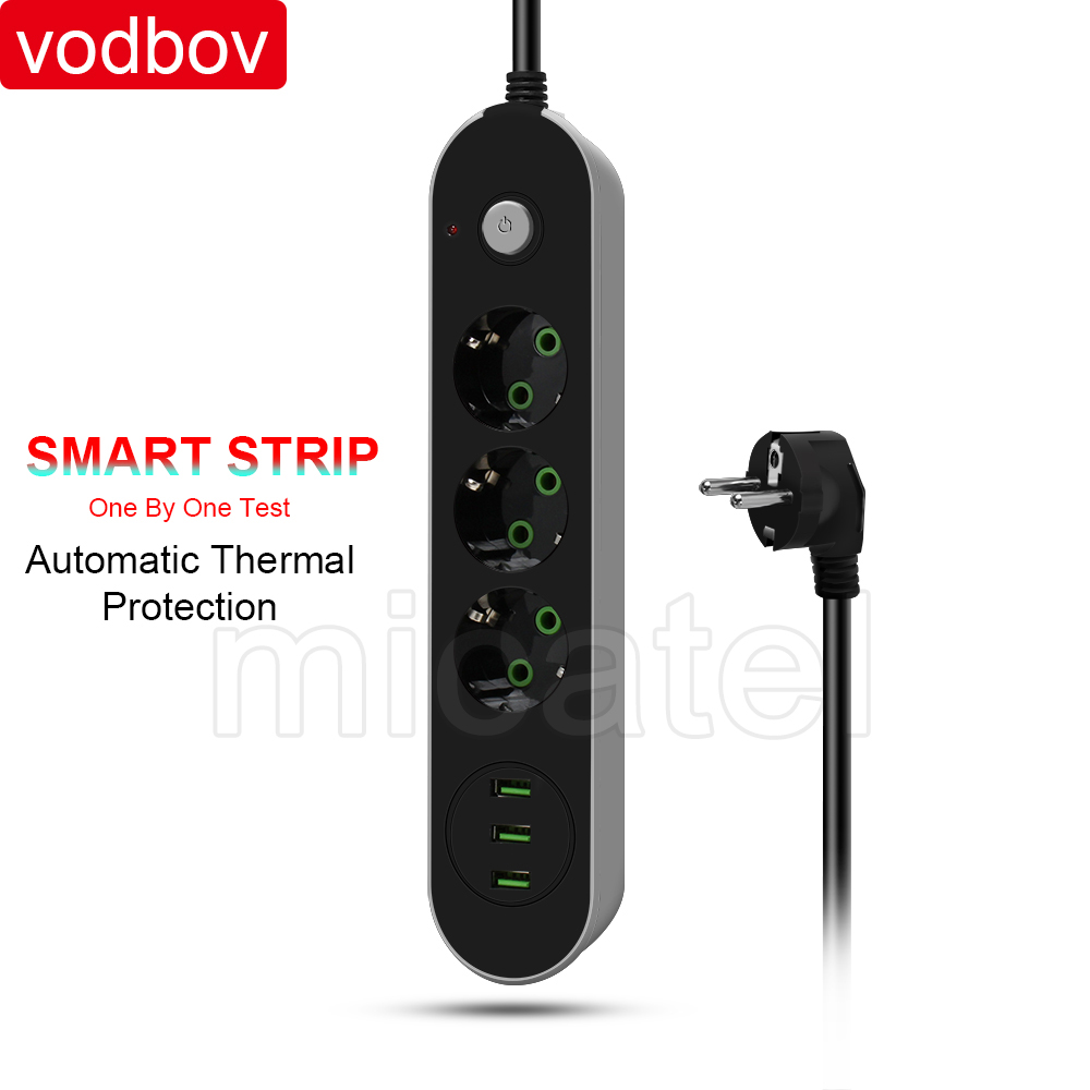 Wholesale Us Power Extension Board Online Buy Best Xiaomi Mi Smart Strip Plug Adapter With 3 Usb Port 2a Vodbov Standard Strongextension Strong Socket Newest Design Individual