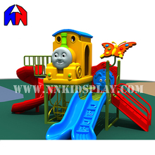 Professional Super Quality Amusement Park Used Kids Playground Plastic Slides For Sale