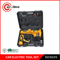 DC 12V car impact wrench and electric jack set for SUV