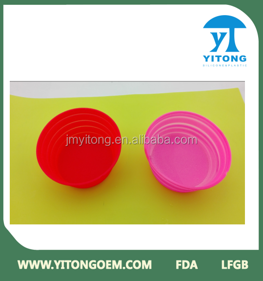 changeable color food grade silicone dog bowl
